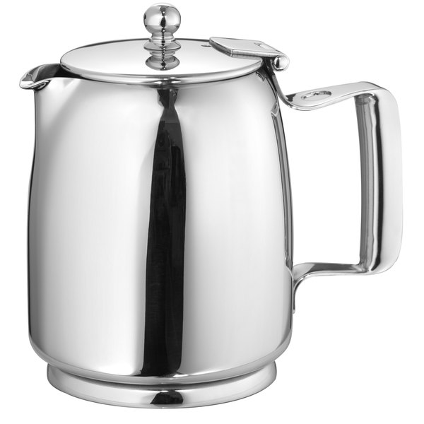 Walco P-WC391 Venus 12 oz. Stainless Steel Covered Beverage Server Main Image 1