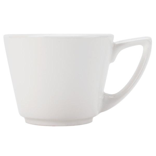 CAC SHER-35 Sheer 3.5 oz. Bone White Porcelain A.D. Cup - 36/Case