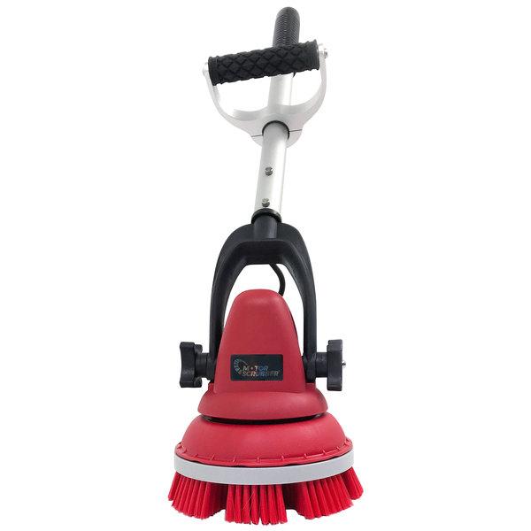 "MotorScrubber MS2000S 15"" Short Handle Portable Scrubber Starter Kit Main Image 1"