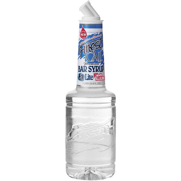 Finest Call 1 Liter Premium Lite Bar / Simple Syrup Main Image 1