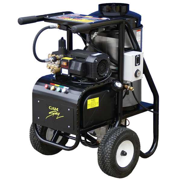 Cam Spray 1450SHDE SH Series Portable Diesel Fired Hot Water Pressure Washer - 1450 PSI; 2.0 GPM Main Image 1