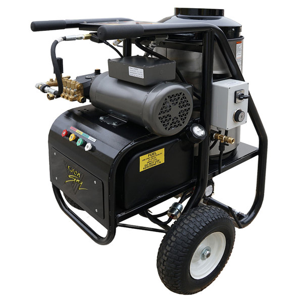 Cam Spray 2725SHDE SH Series Portable Diesel Fired Hot Water Pressure Washer - 2700 PSI; 2.5 GPM Main Image 1
