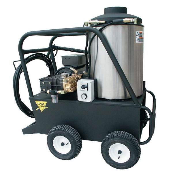 Cam Spray 2555QE Portable Electric Hot Water Pressure Washer with 50' Hose - 2500 PSI; 5.5 GPM Main Image 1