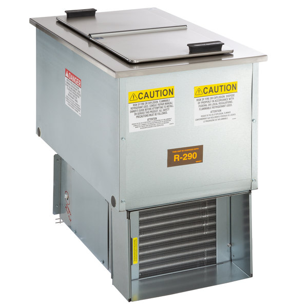 delfield n225p 6 gallon drop in freezer with stainless steel lids Dvd Wiring Diagram main picture