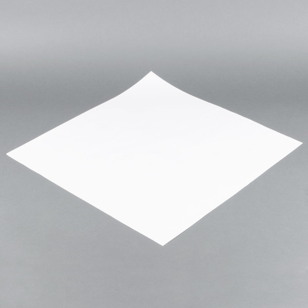 24'' x 24'' 40# White Paper Table Cover - 550/Bundle Main Image 1