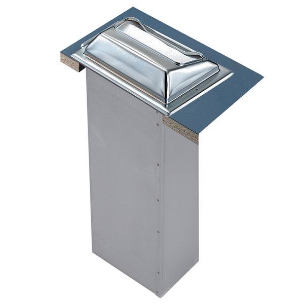 San Jamar H2000XC In-Counter Minifold Napkin Dispenser - Chrome