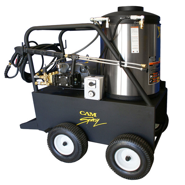 Cam Spray 1500QE Portable Electric Hot Water Pressure Washer with 50' Hose - 1500 PSI; 3.0 GPM Main Image 1