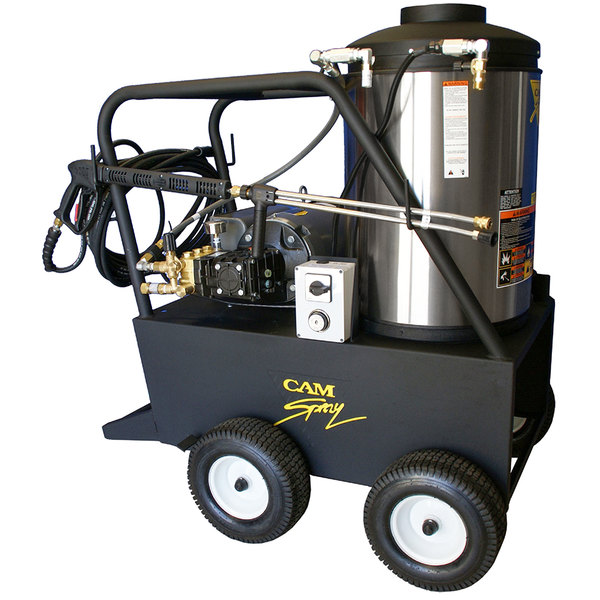 Cam Spray 2000QE Portable Electric Hot Water Pressure Washer with 50' Hose - 2000 PSI; 4.0 GPM Main Image 1