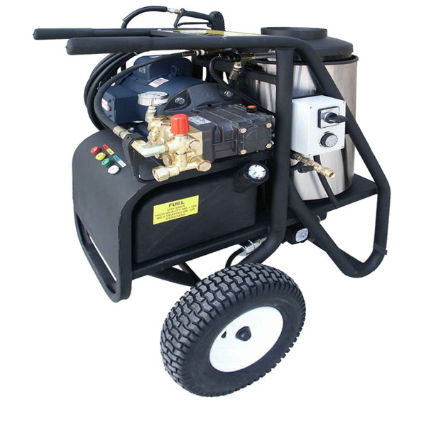 Cam Spray 20005SHDE Portable Electric Hot Water Pressure Washer with 50' Hose - 2000 PSI; 3.0 GPM Main Image 1