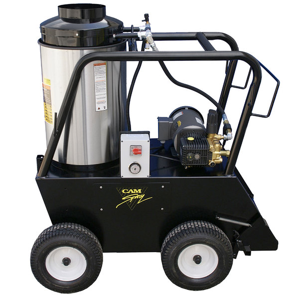 Cam Spray 1000QE Portable Electric Hot Water Pressure Washer with 50' Hose - 1000 PSI; 3.0 GPM Main Image 1