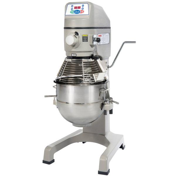 Globe SP30P Gear Driven 30 Qt  Commercial Planetary Floor Pizza Mixer -  220V, 1 1/2 hp