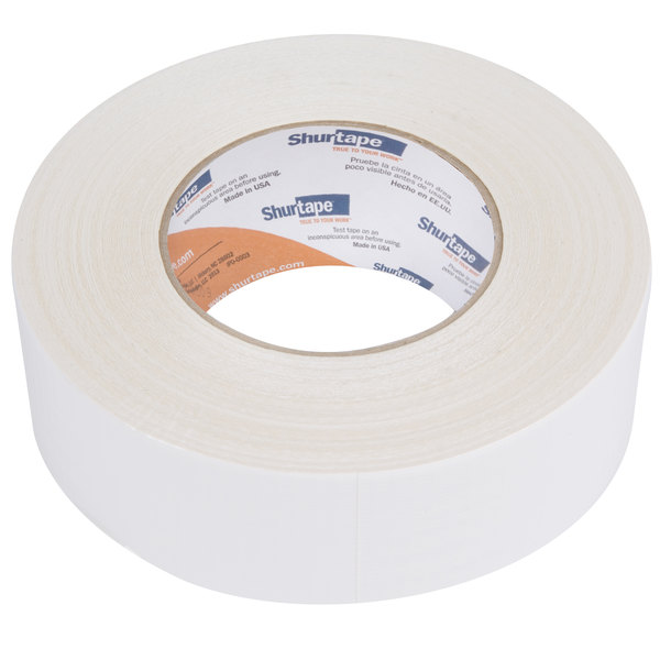 """White Duct Tape 2"""" x 60 Yards (48 mm x 55 m) - General Purpose High Tack"""