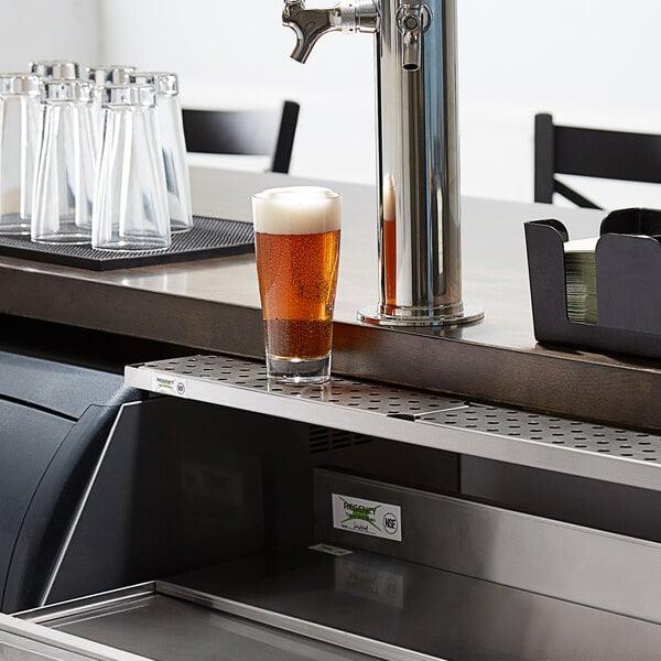 "Regency 600BDR30 30"" Stainless Steel Underbar Mount Beer Drip Tray Main Image 4"