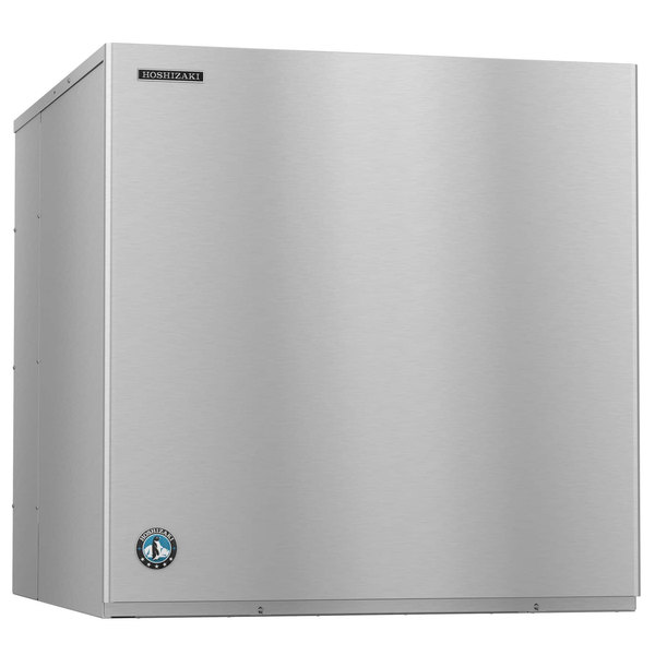 Hoshizaki KMH-2100SWJ3 36 inch High Capacity Stackable Water Cooled Crescent Cube Ice Machine - 208/230V, 3 Phase, 2026 lb.