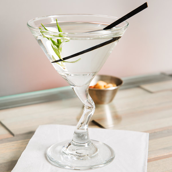 Libbey 37719 Z-Stems 5 oz. Martini Glass - 12/Case