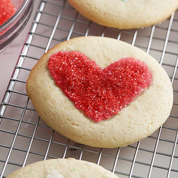 10 lb. Red Sanding Sugar Main Image 2