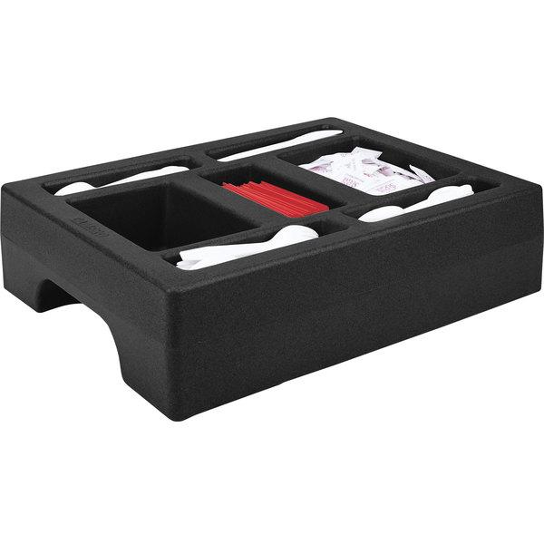 Cambro LCDCH10110 Black Condiment Holder for Cambro 1000LCD / UC1000