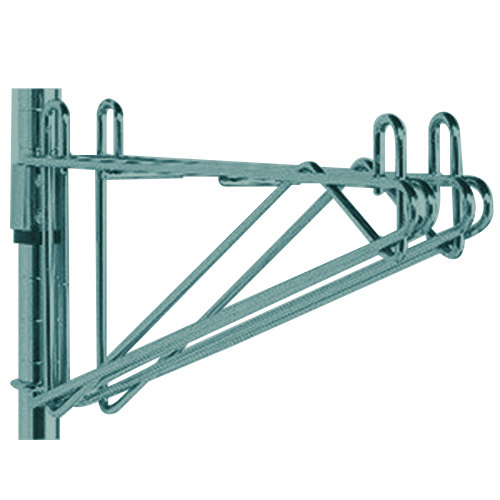 "Metro 2WS18K3 Post-Type Wall Mount Shelf Support for Adjoining Super Erecta Metroseal 3 18"" Deep Wire Shelving"