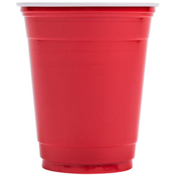 Dart Solo P12SR 12 oz. Red Plastic Cup - 1000/Case