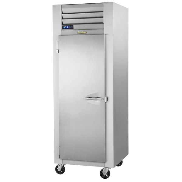 """Traulsen G10011 30"""" G Series Reach-In Refrigerator with Left-Hinged Solid Door Main Image 1"""
