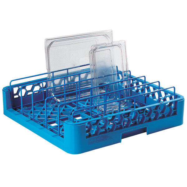 Carlisle RFP14 OptiClean Full Size Food Pan / Insulated Meal Delivery Tray Rack