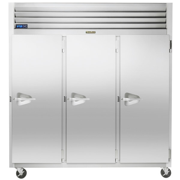 """Traulsen G30012-032 76 1/4"""" G Series Solid Door Reach-In Refrigerator with Right Hinged Doors Main Image 1"""