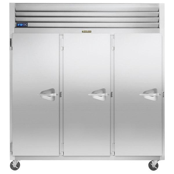 "Traulsen G30013-032 76 1/4"" G Series Solid Door Reach-In Refrigerator with Left Hinged Doors Main Image 1"