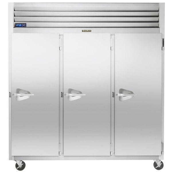 "Traulsen G31012-032 76 1/4"" G Series Solid Door Reach-In Freezer with Right Hinged Doors Main Image 1"