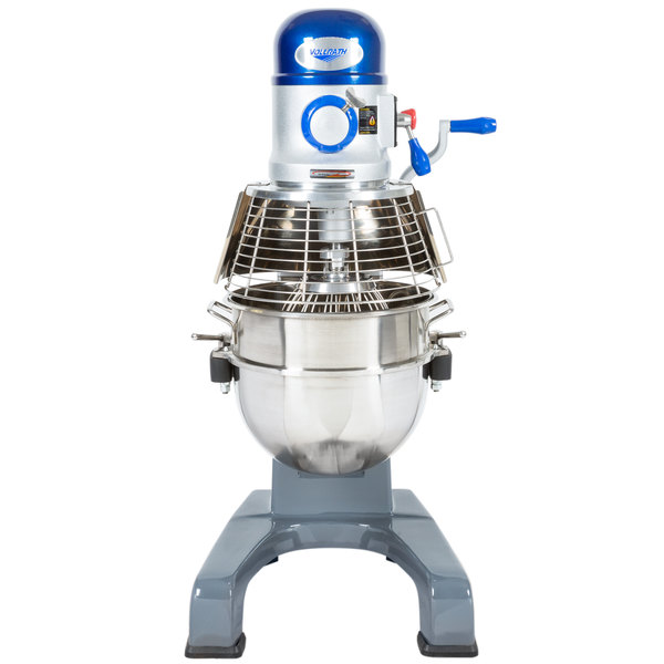 Vollrath 40758 30 Qt. Commercial Planetary Floor Mixer with 3 Speeds - 1 hp Main Image 1
