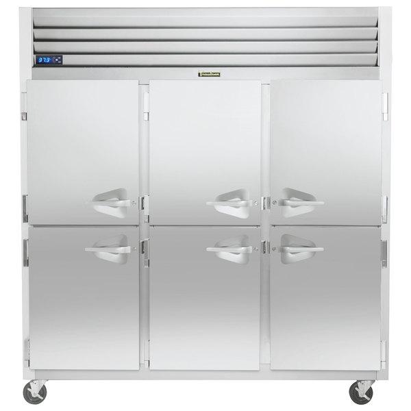 """Traulsen G31001-032 76 1/4"""" G Series Half Door Reach-In Freezer with Left / Left / Right Hinged Doors Main Image 1"""