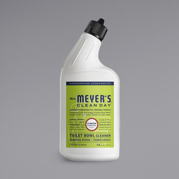 Mrs. Meyer's Clean Day 663023 12 oz. Lemon Verbena Toilet Bowl Cleaner - 6/Case Main Image 1