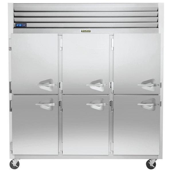 """Traulsen G31003-032 76 1/4"""" G Series Half Door Reach-In Freezer with Left Hinged Doors Main Image 1"""