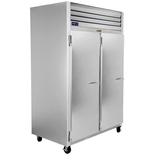 """Traulsen G20013-032 52"""" G Series Solid Door Reach-In Refrigerator with Left / Left Hinged Doors Main Image 1"""