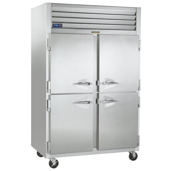 """Traulsen G22000-032 52"""" G Series Half Door Reach-In Freezer with Left / Right Hinged Doors Main Image 1"""