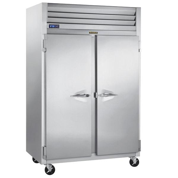 "Traulsen G22010-032 52"" G Series Solid Door Reach-In Freezer with Left / Right Hinged Doors Main Image 1"
