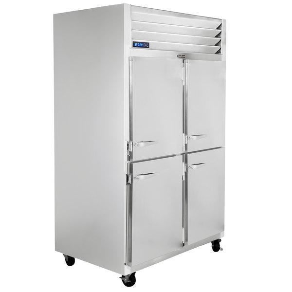 "Traulsen G22002-032 52"" G Series Half Door Reach-In Freezer with Right / Right Hinged Doors Main Image 1"
