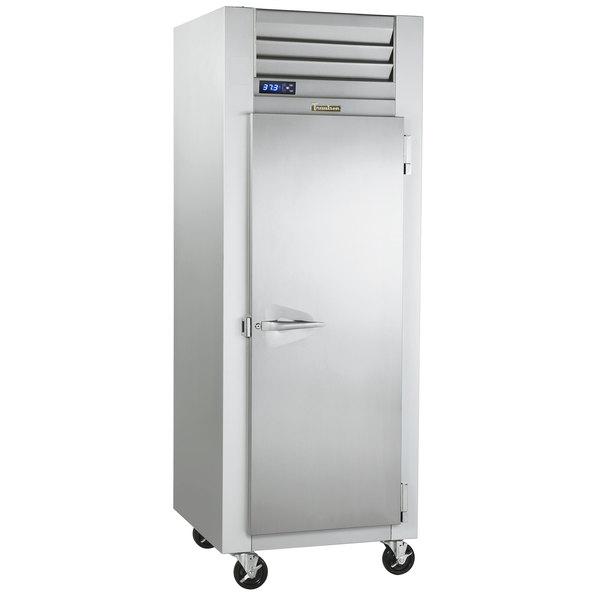"""Traulsen G12010-032 30"""" G Series Solid Door Reach-In Freezer with Right Hinged Door Main Image 1"""