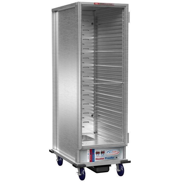 Winholt NHPL-1836C-DGT Heater / Proofer Mobile Cabinet with Digital Thermostat and Clear Door - 120V Main Image 1