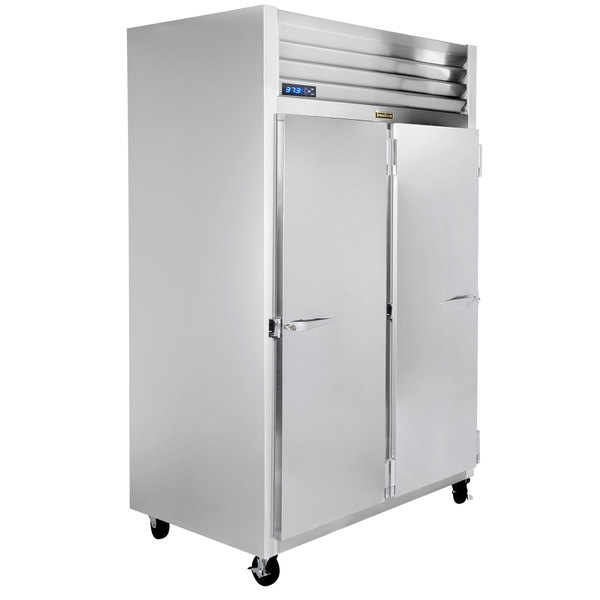 """Traulsen G20011-032 52"""" G Series Solid Door Reach-In Refrigerator with Right / Left Hinged Doors Main Image 1"""