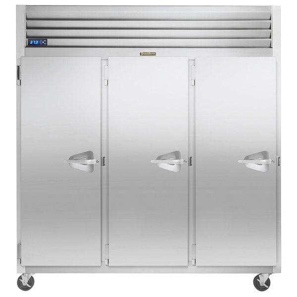 """Traulsen G31013-032 76 1/4"""" G Series Solid Door Reach-In Freezer with Left Hinged Doors Main Image 1"""