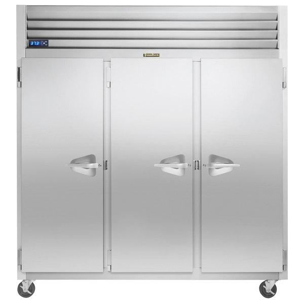 """Traulsen G31011-032 76 1/4"""" G Series Solid Door Reach-In Freezer with Left / Left / Right Hinged Doors Main Image 1"""