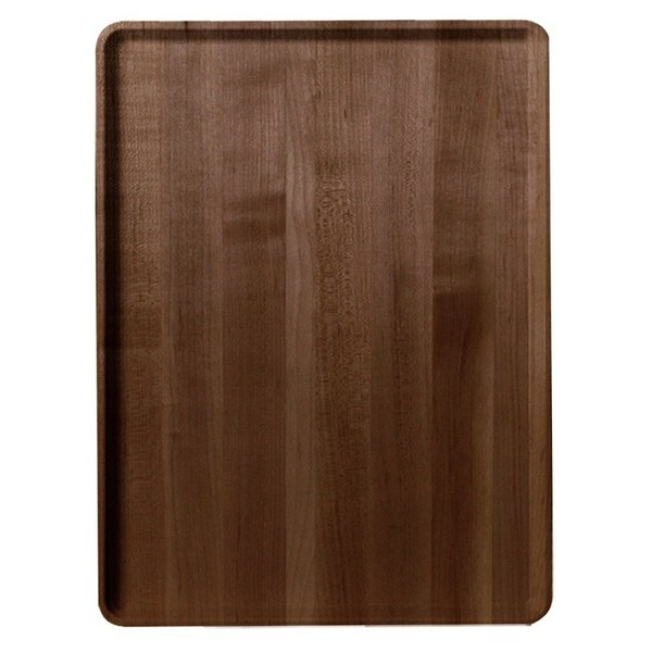 """Cambro 1220D304 12"""" x 20"""" Country Oak Wood-Look Dietary Tray - 12/Case"""