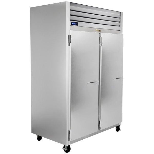 """Traulsen G22013-032 52"""" G Series Solid Door Reach-In Freezer with Left / Left Hinged Doors Main Image 1"""