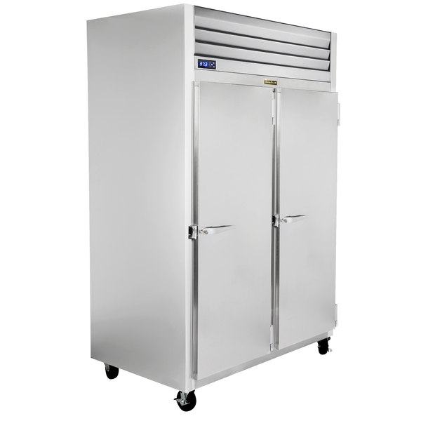 "Traulsen G22012-032 52"" G Series Solid Door Reach-In Freezer with Right / Right Hinged Doors Main Image 1"