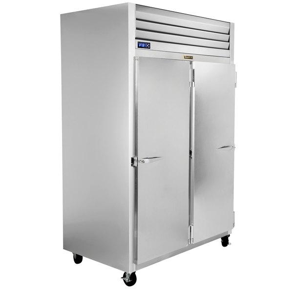 "Traulsen G22011-032 52"" G Series Solid Door Reach-In Freezer with Right / Left Hinged Doors Main Image 1"