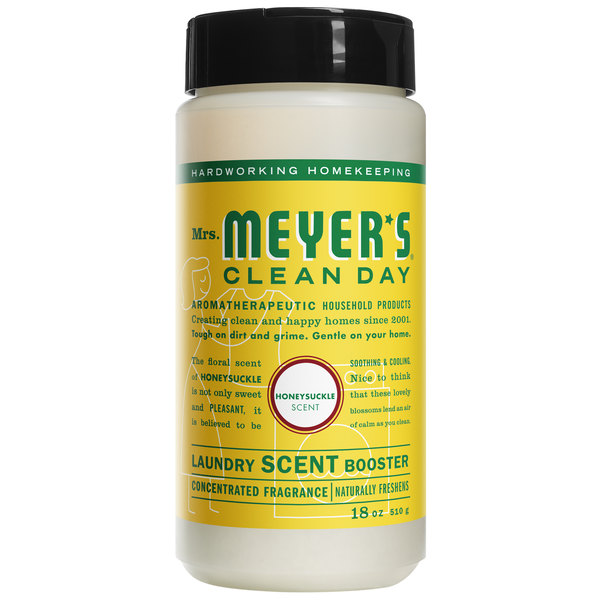 Mrs. Meyer's Clean Day 692024 18 oz. Honeysuckle Laundry Scent Booster - 6/Case Main Image 1