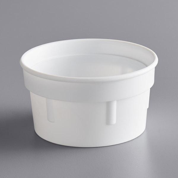 Dart 20C 20 oz. White Plastic Malt Collar for 20J16 Cup Main Image 1