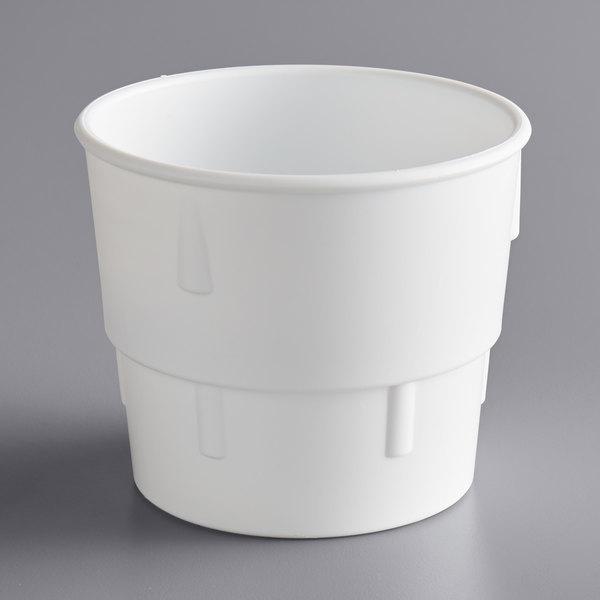 Dart 14B/C 14 oz. White Plastic Malt Collar for 14J12 Cup Main Image 1