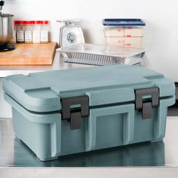 "Cambro UPC160401 Slate Blue Camcarrier Ultra Pan Carrier - Top Load for 12"" x 20"" Food Pan"