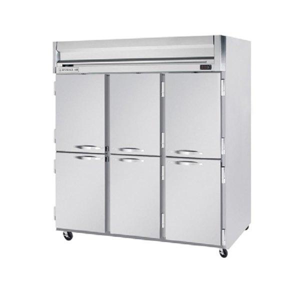 "Beverage-Air HF3HC-1HS Horizon Series 78"" Top Mounted Half Door Reach-In Freezer Main Image 1"